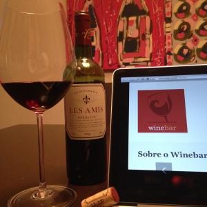 Winebar se supera quando a gente recebe um dos vinhos apresentados.